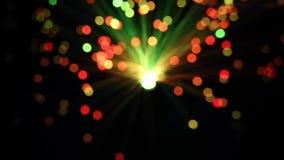 Purpurroter roter blauer Diodenlichthintergrund stock video footage