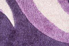 Purpurroter Teppich Lizenzfreie Stockfotografie