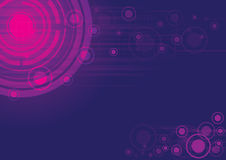 Purpurroter vektorauszugshintergrund Stockbilder