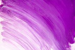 Purpurroter weißer Acrylhintergrund Lizenzfreie Stockfotografie