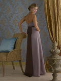 Purpurrotes Abend-Kleid Lizenzfreies Stockbild