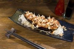 Purpurrotes Aubergine Japanerlebensmittel Stockfoto