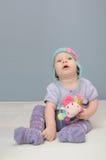 Purpurrotes Babyspielzeug Stockfotografie