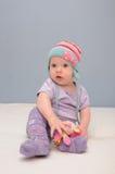 Purpurrotes Babyspielzeug Lizenzfreie Stockbilder