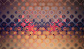 Purpurrotes Blasenmuster Stockbild