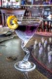 Purpurrotes Cocktail Stockfotografie