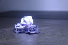Purpurrotes Eis Lizenzfreies Stockfoto