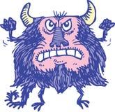 Purpurrotes Monster Lizenzfreies Stockbild