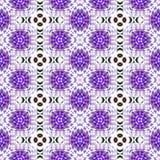 Purpurrotes nahtloses abstraktes Muster Stockbild
