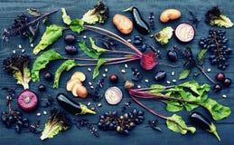 Purpurrotes Obst und Gemüse Lizenzfreies Stockbild