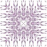 Purpurrotes Spitzemuster lizenzfreies stockbild