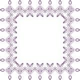 Purpurrotes Spitzemuster stockbild