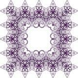 Purpurrotes Spitzemuster lizenzfreie stockbilder