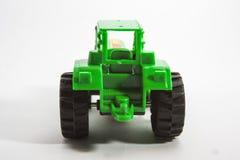 Purpurrotes Traktorspielzeug Stockfoto