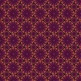 Purpurrotes und orange abstraktes Muster Stockbilder
