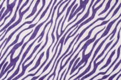 Purpurrotes und weißes Zebramuster Lizenzfreie Stockbilder