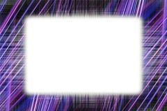 Purpury światła śladów rama Obrazy Stock