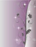 Purpury błyskotania zawijasa tło Obrazy Royalty Free