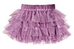 purpury delikatna spódnica Obrazy Stock