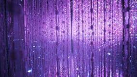 Purpury lekki tło w ArtScience muzeum Singapur Zdjęcie Royalty Free
