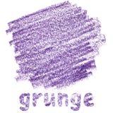 Purpury plamią w grunge stylu ilustracja wektor