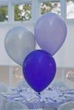 Purpury przyjęcia balony Fotografia Stock
