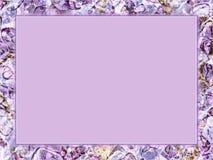 Purpury rama ilustracja wektor