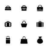 Purse bag icons set Stock Photo