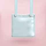 Purse Bag Pink Background Royalty Free Stock Image
