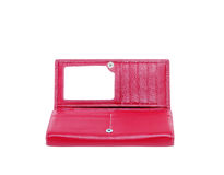 Purse feminine red Stock Images