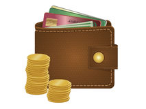 Purse stock illustration