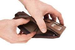 Purse in hand Stock Photography