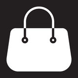 Purse handbag icon, vector illustration. Royalty Free Stock Images