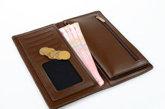 Purse and Money Stock Photos