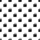 Purse with money pattern, simple style Stock Images
