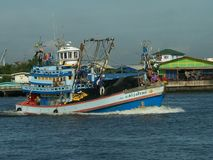 Purse Seine fishing boat Stock Photography