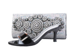 Purse & shoes Royalty Free Stock Photo