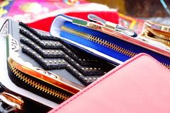 Purse Wallet. Beautiful portrait of the Purse Wallet Royalty Free Stock Images