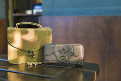 Purse and wallet Royalty Free Stock Photos