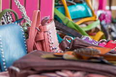 Purses and bling Royalty Free Stock Photo