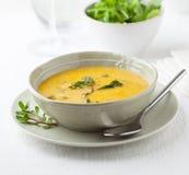 Purslane soup stock photo