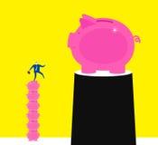 Pursue bigger targets Royalty Free Stock Images
