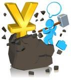 Pursuing Money Stock Photo