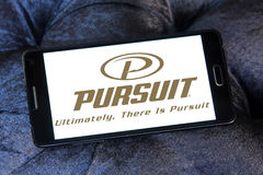 Pursuit boats logo Stock Photos