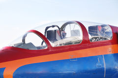 Pursuit plane Royalty Free Stock Photography