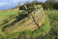 Purton Hulks Stock Images