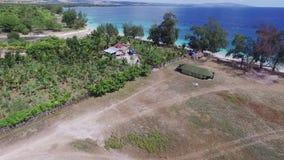 Puru Kambera Savanna, Sumba-Eiland indonesië stock videobeelden