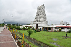 Purva Tirupati Shri Balaji寺庙 图库摄影