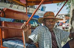 A pus-pus taxi driver Royalty Free Stock Images