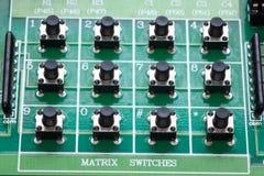 Push botton switch Stock Image